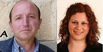 Nella foto i consiglieri comunali Salvatore Maniglia e Maria Morgante
