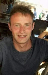 Salvatore Lombardo, 23 anni, rimasto vittima nello scontro frontale