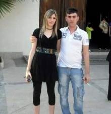 Le due vittime Angelo Cannavò, di 28 anni e Rita Decina, di 25 anni, (nella foto tratta da facebook)