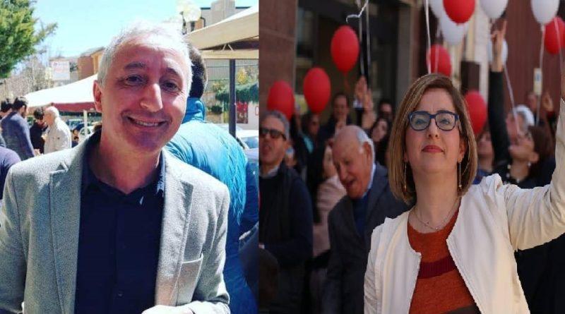 RACALMUTO – Al via la campagna elettorale di Cinzia Leone e Vincenzo Maniglia [FOTO]