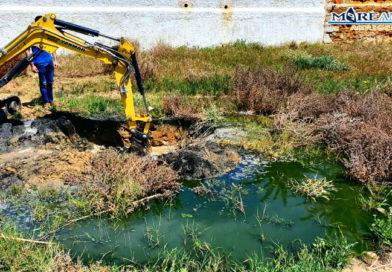 Un nuovo disastro ambientale colpisce San Leone [FOTO][VIDEO]