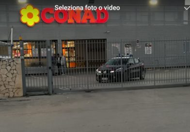 FAVARA – Rapina al supermercato Conad:  cassiere minacciato con la pistola