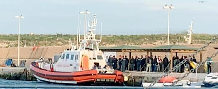 In 58 sbarcano a Lampedusa