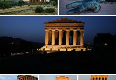 AGRIGENTO – Valle dei Templi all'alba o al tramonto