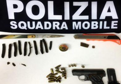 "AGRIGENTO – ""Nascondeva una pistola con matricola abrasa e hashish"", arrestato 30enne"