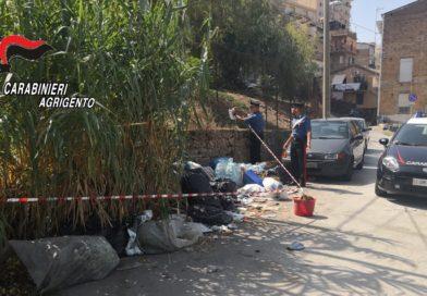 """AGRIGENTO – Operazione """"Strade pulite"""": sequestrate due discariche abusive.[VD]"""