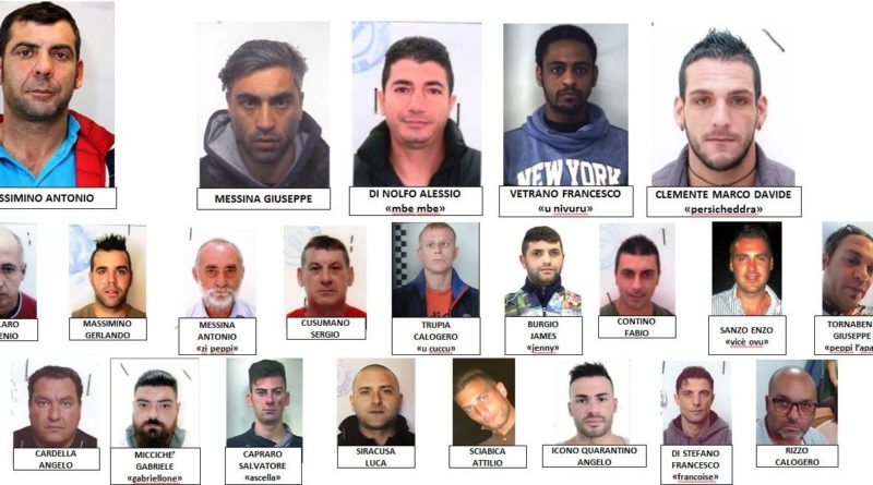 "AGRIGENTO – Chiusa l'inchiesta ""Kerkent"": in 46 a rischio processo"