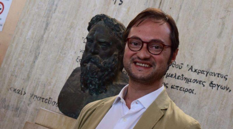 """AGRIGENTO – Incarico di prestigio per Beniamino Biondi all'Accademia """"Michelangelo"""""""