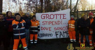 """GROTTE – Sciopero netturbini, il Sindaco:""""Situazione insostenibile"""""""