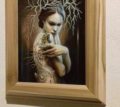 RACALMUTO – Inaugurata mostra di pittura di Alfonso Rizzo [FOTO]