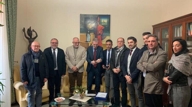 MONTEDORO – L'assessore regionale Falcone incontra gli amministratori sulla precaria viabilità