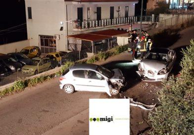 MONREALE – Scontro frontale in circonvallazione, muore un uomo