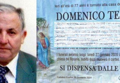 CATTOLICA ERACLEA – E' morto il boss Domenico Terrasi