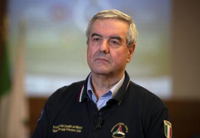 """CORONAVIRUS –  Borrelli:"""" Raggiunto il picco ma non abbassare la guardia"""""""