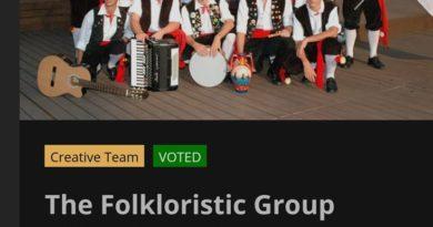 """Il gruppo folk """"Città di Agrigento"""" in finale al """"World folk vision"""""""