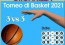 """RACALMUTO – Torneo di basket """" 3 x 3″ aperte iscrizioni"""