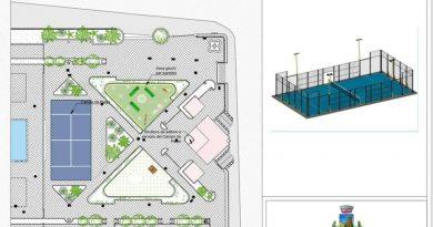 RACALMUTO – Sorgerà un campo di padel in via Filippo Villa