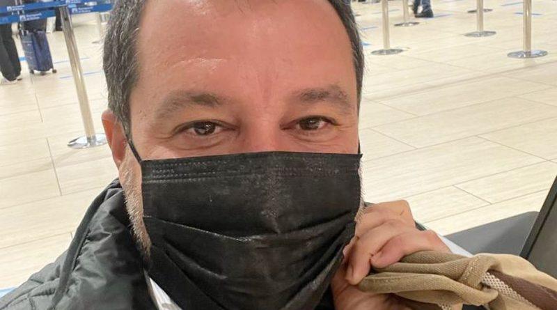 """PALERMO – Salvini  firma la pace con Musumeci:""""Centrodestra vince se non si divide"""""""